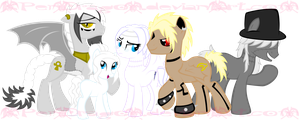 MLP: Madness Family pt2 by KPenDragon