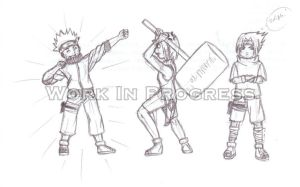 Just a Day in Konoha... - WIP by The-Phisch