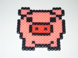 Piggy Perler by tabescent