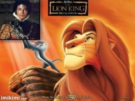 presenting King Michael With King Simba by Becky123190