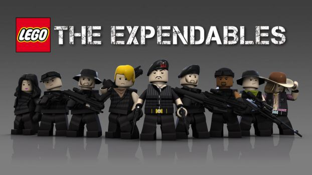 LEGO Expendables by bryanfield
