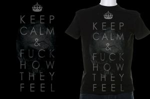 Keep Calm T-shirt by archsoul1