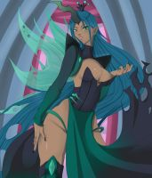 Chrysalis My Little Pony Fanart by BloodyMizz
