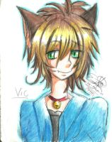 Neko Boy Bishie by SamyChanTwinz