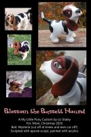 Blossom the Basset Pony by lizstaley