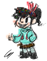 Vanellope Sketch by c0ke964