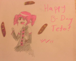 Happy Birthday Teto by SugaryLovewish