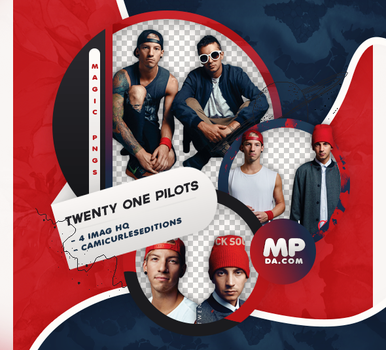 PACK PNG 811| TWENTY ONE PILOTS by MAGIC-PNGS