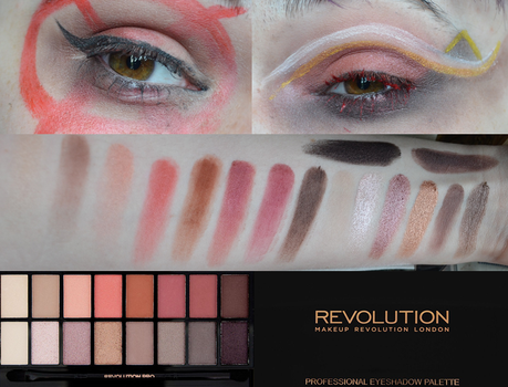 Makeup Revolution Palette Series- New-trals ... by Zellfails