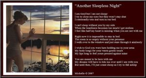 Another Sleepless Night by VisualPoetress