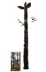 Cut-out stock PNG 72 - totem by Momotte2stocks