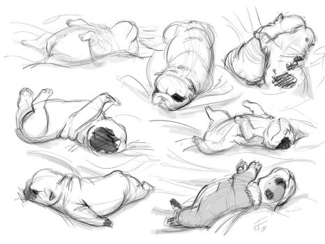 Bully Pups by zzleigh