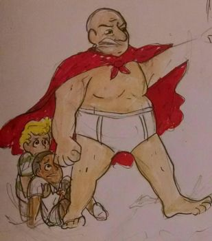 Captain Underpants by snafucomic