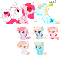 MLP Breedable Babies - Milda x Unknown2 CLOSED by kitty910