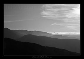 Monts cevenoles by Azram