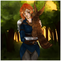 DAI: Itylra [Commission] by LadyTheirin
