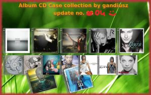 CD Case Collection update 04 by gandiusz