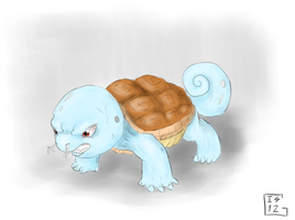 Evil Squirtle by Gela-G-I-S-Gela