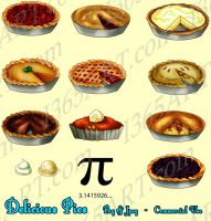 Random Pies Clipart by Peipei22