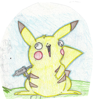 MY Pikachu by BaconTree92