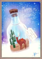 Merry Christmas ^.^ // 2013 by electrifried