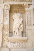 statue in efes by snaplilly