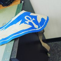 Leather work for  Anubis by Grellish