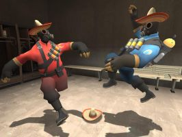 Mexican Hat Dance by Skullhead881