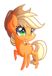 Chibi Applejack by Left2Fail