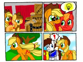 The Apple Family Needs Help part 1 by KyleStudios
