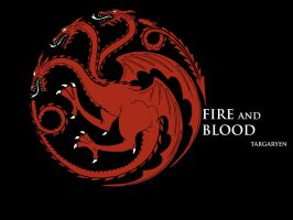 Targaryen house logo by natestarke