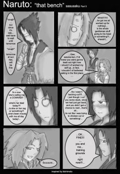 Sasusaku bench part 5 by 1amm1