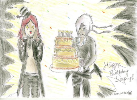 Happy Birthday Simply by mckrongs