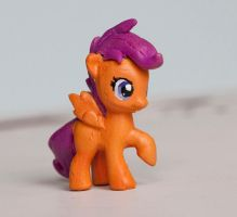 Scootaloo Blind Bag Custom MLP by alltheApples