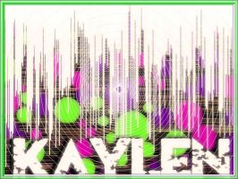 Random thing I did with my name by xKaylen