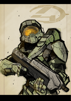 Digital Sketchbook: Halo 4 by Todd3point0