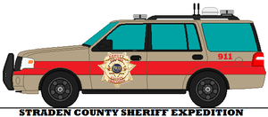 Straden County Sheriff Expedition by mcspyder1
