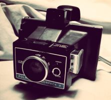 Vintage Polaroid colorpack II by AmorouxSkiLodge