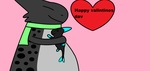 happy valintiens day Lucette! by freakness96