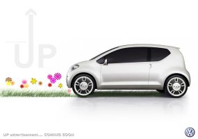 Volkswagen UP Concept from VW by Dap1987