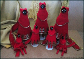Journey PS3 Dolls by bezzalair