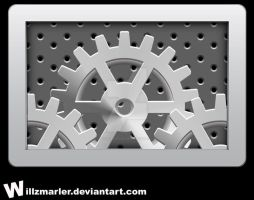 Settings 'Gears' Icon by WillZMarler