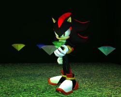 Finally, i got all the Chaos Emeralds! by nothing111111