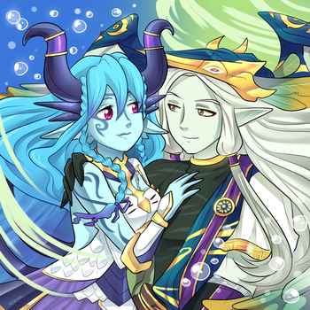Water and Wind by keterok