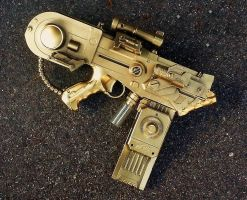 Steampunk Anti-Tank Pistol WIP 3 by LandgraveCustoms