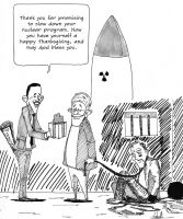 Obama's Deal-making by TeaToons