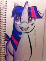 Twilight Sparkle by AgentBlackBlood