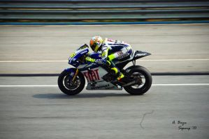 Valentino Rossi, Sepang '10 by PlatDFrame