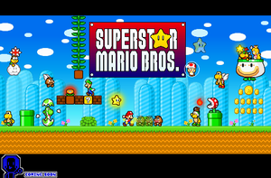 Superstar Mario Bros Cover by PxlCobit