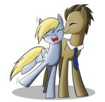 Derpy and The Doctor by Geminas0wng